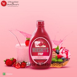 Hersheys Syrup Delicious Strawberry Flavour 623gm