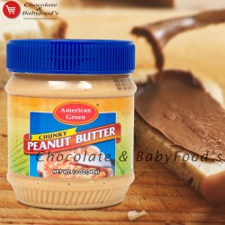 American Green Chunky Peanut Butter 340gm