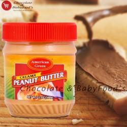 American Green Creamy Peanut Butter 340gm