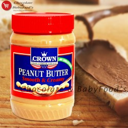 Crown Peanut Butter Smooth & Creamy 510gm