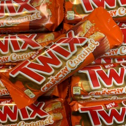 Twix Crunchy Caramel 25 pc's Box