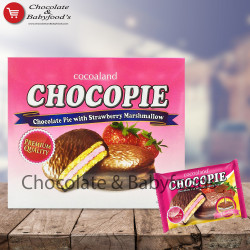 Cocoaland Chocopie Chocolate Pie with Strawberry 300gm