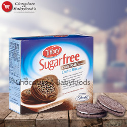 Tiffany Sugar Free Chocolate Cream Biscuits 162gm