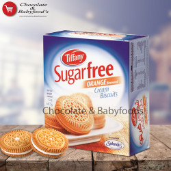 Tiffany Sugar Free Orange Cream Biscuits 162gm