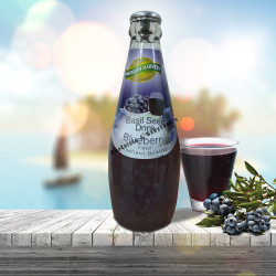 American Harvest Basil Seed Drink with Blueberry