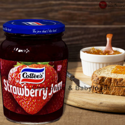 Cottee's Strawberry jam 500gm