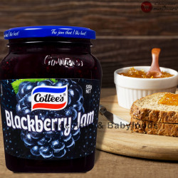 Cottee's Blackberry Jam 500gm