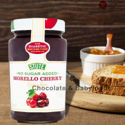 Stute No Sugar Added Morello Cherry Extra Jam 430gm