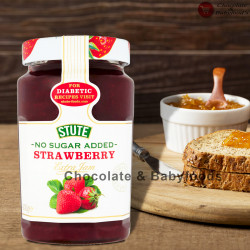 Stute No Sugar Added Strawberry Extra Jam 430gm