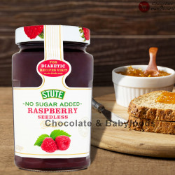 Stute No Sugar Added Raspberry Seedless Extra Jam 430gm