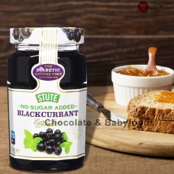 Stute No Sugar Added Blackcurrant Extra Jam 430gm