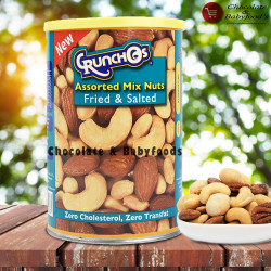 Crunchos Assorted Mixed Nuts Fried & Salted 350g