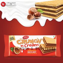 Tiffany Crunchy n Cream Hazelnut Wafers 76g