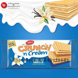 Tiffany Crunchy n Cream Vanilla Wafers 153g