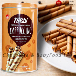 Nitchi Cappuccino Wafer Sticks 330g