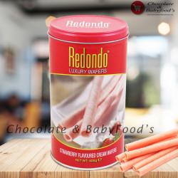 Redondo Strawberry Cream Wafers 400g