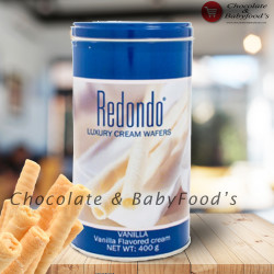 Redondo Vanilla Cream Wafers 400g