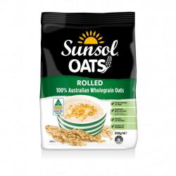 Sunsol 100% wholegrain Rolled Oats 500g