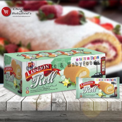 London Roll Vanilla Flavor Cake