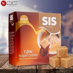 Sis Raw Sugar Cubes 454g