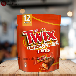 Twix Crunchy Caramel Minis 174g