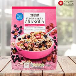 Tesco Supper Berry Granola 500gm