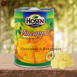 Hosen Pineapple Cube in Syrup 565g