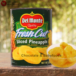 Del Monte Sliced Pineapple 567g