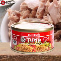 Farmland Tuna Flakes in Soya Oil 185g