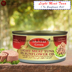 American Green Light Meat Tuna Sunflower Oil 185g