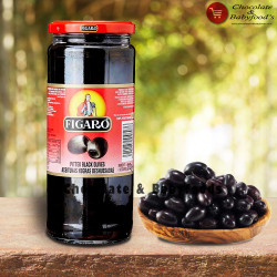 Figaro Pitted Black Olives 340g