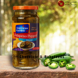 American Garden Jalapeno Pepper Sliced 454g