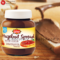 Highway Hazelnut Spread 400g