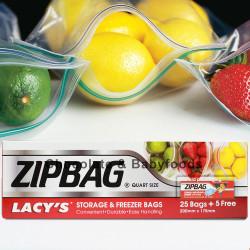 Zipbag Storage & Freezer Bags 30bags