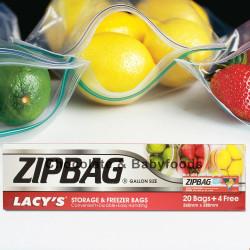 Zipbag Storage & Freezer Bags 24bags
