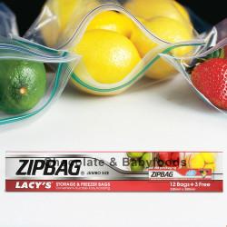 Zipbag Storage & Freezer Bags 15bags