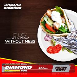 Diamond Aluminum Foil 37.5sq.ft