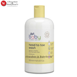 Boots Baby Head To Toe Wash 500ml