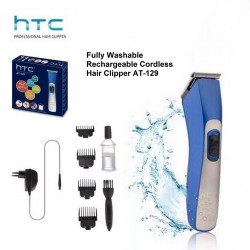 HTC Fully Washable Hair Clipper AT-129