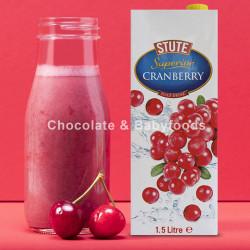 STUTE Cranberry Juice Drink 1.5Ltr.