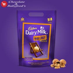 Cadbury Dairy Milk Wholenut Minis 400 g