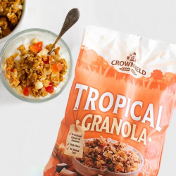Crownfield Tropical Granola 1kg