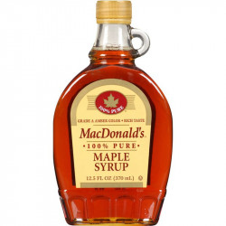 MACDONALD'S 100% PURE MAPLE SYRUP – 370 ML