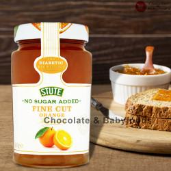 Stute Sugar free fine cut Orange Marmalade 430g