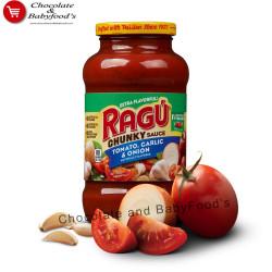Ragu Chunky Sauce Tomato, Garlic & Onion 396g