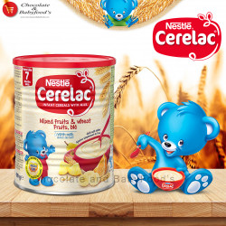 Nestle Cerelac mixed fruits & wheat with Milk 400gm