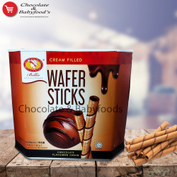 Bellie Wafer Sticks Chocolate Flavoured Cream 400g