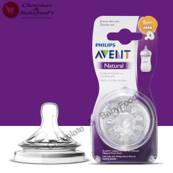 PHILIPS Avent Natural Teats 6m+