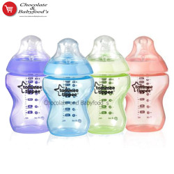 Tommee Tippee Colour My World 0m+ 260ml (4pcs)