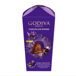 Godiva Chocolate Domes Double Chocolate 130g